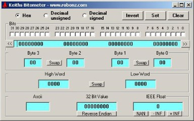 RoboNz Com Bit manipulation tool